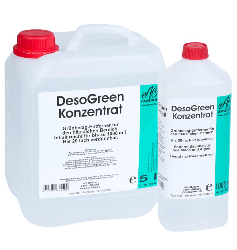 Grünbelagentferner DesoGreen