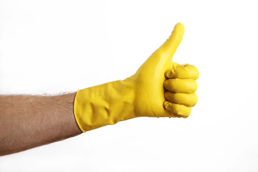 Reinigen mit Anti-Schmutz-Effekt