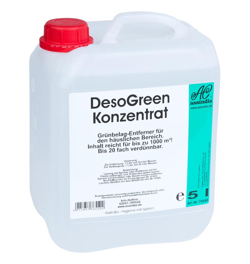 DesoGreen Grünbelagentferner 5 Liter