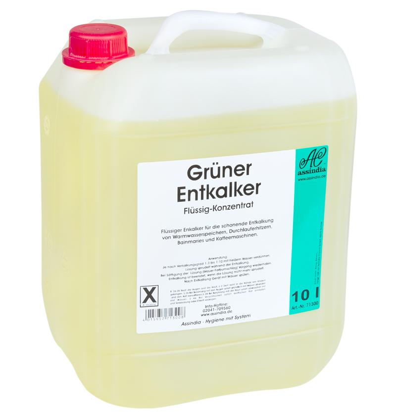 Grüner Entkalker 10 Liter