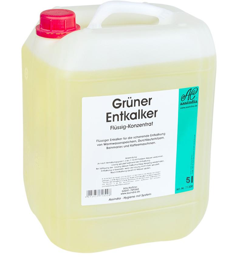 Grüner Entkalker 5 Liter