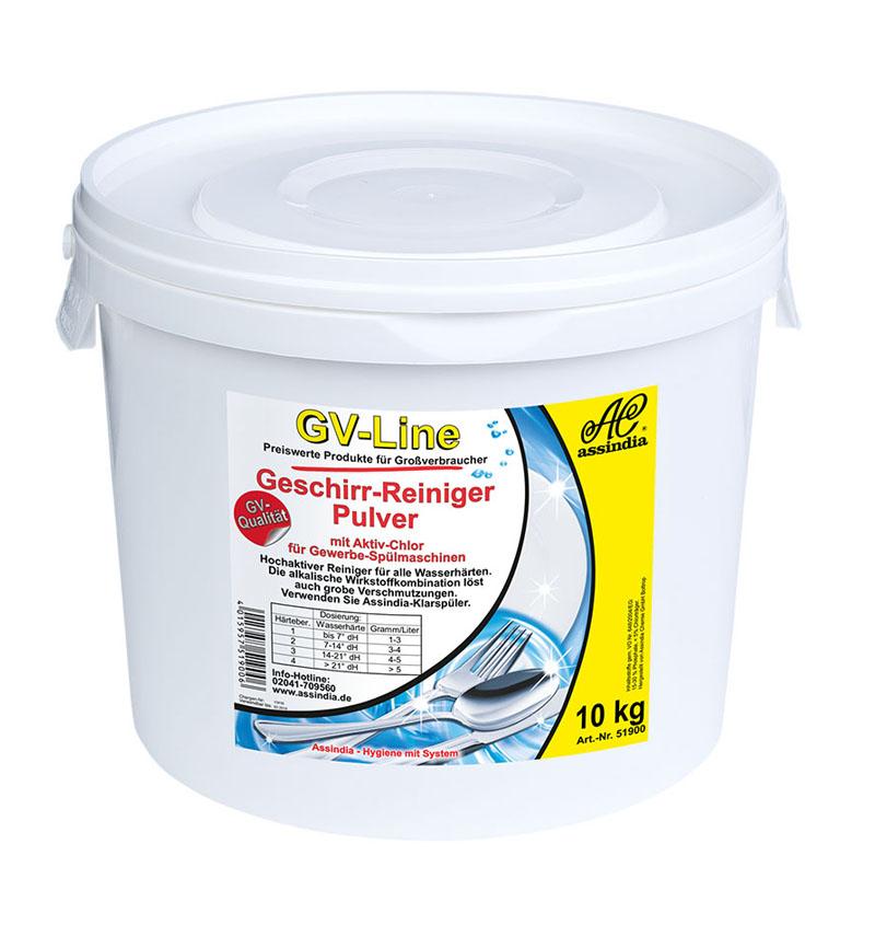 Geschirr Reiniger Pulver GV Line